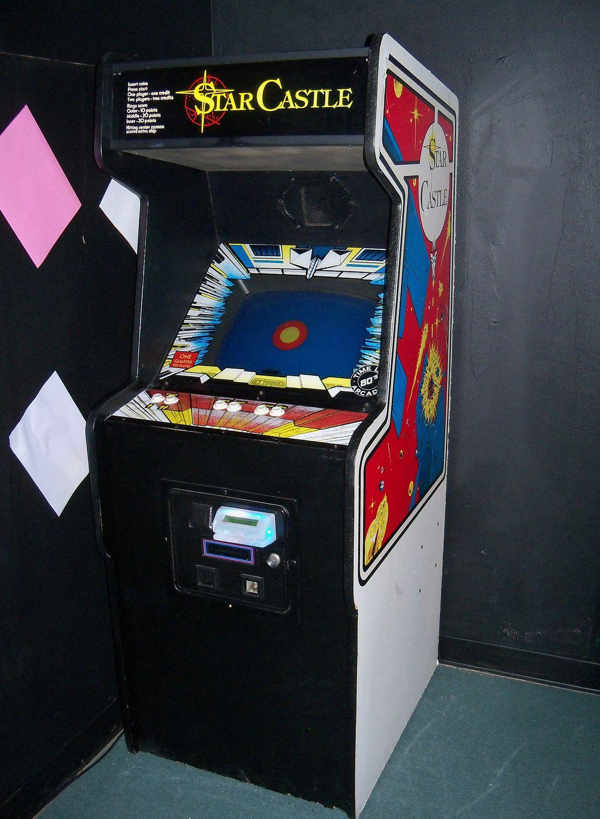 STAR CASTLE (With images) Retro arcade games, Retro