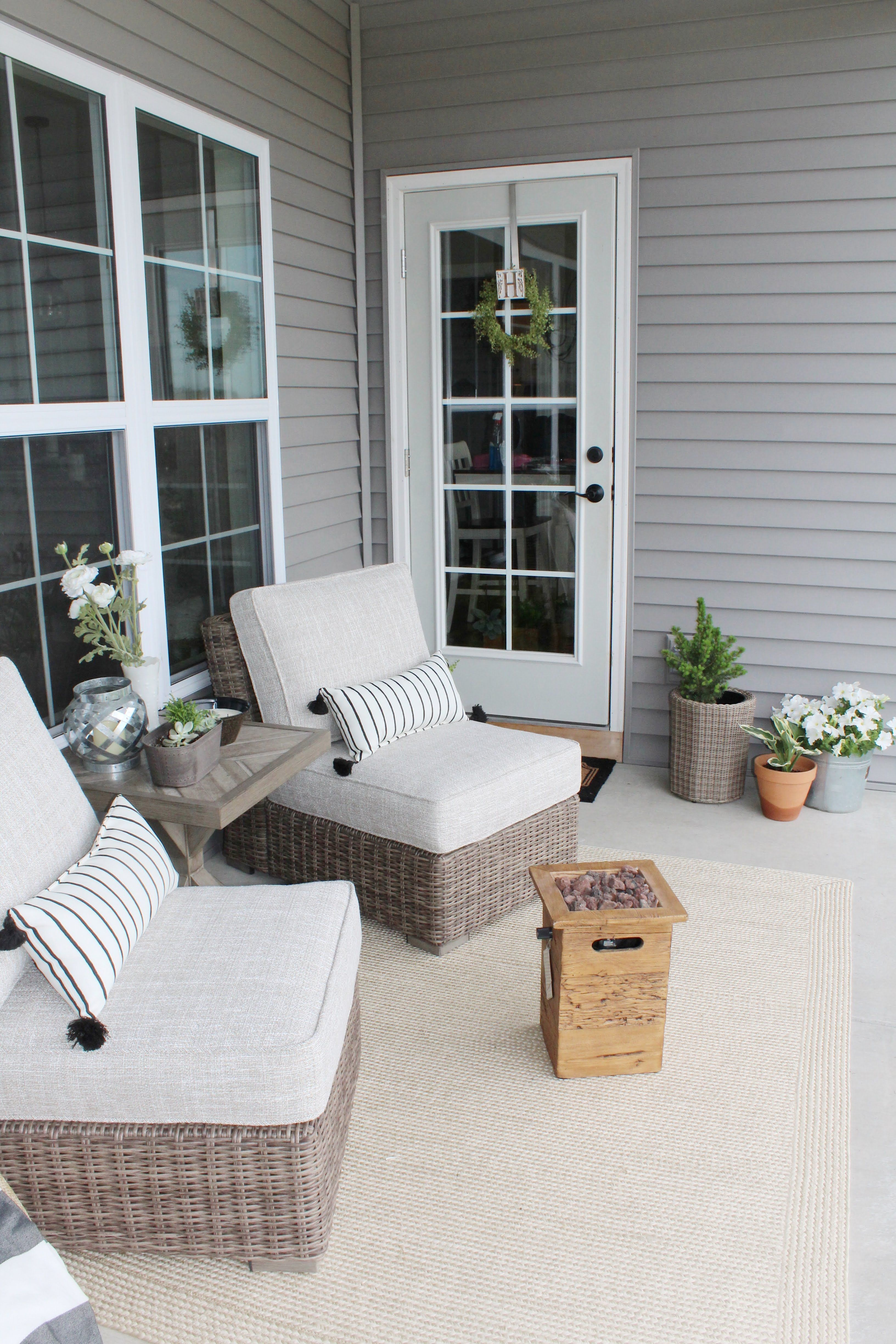 Beachcroft Armless Chair with Cushion, Beige in 2020 ... on Beachcroft Beige Outdoor Living Room Set  id=15217