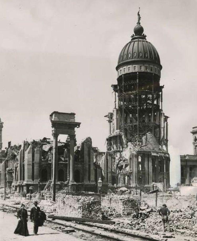 City Hall, after 1906 earthquake