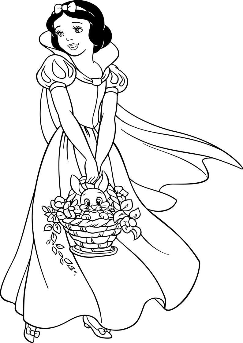 Dla Dziewczyn Krolewna Sniezka Kolorowanka Nr 5 Princess Coloring Pages Disney Princess Sketches Disney Coloring Pages