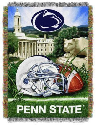 the best attitude 72fbf 96f7d NCAA Penn State University Tapestry Throw Blanket