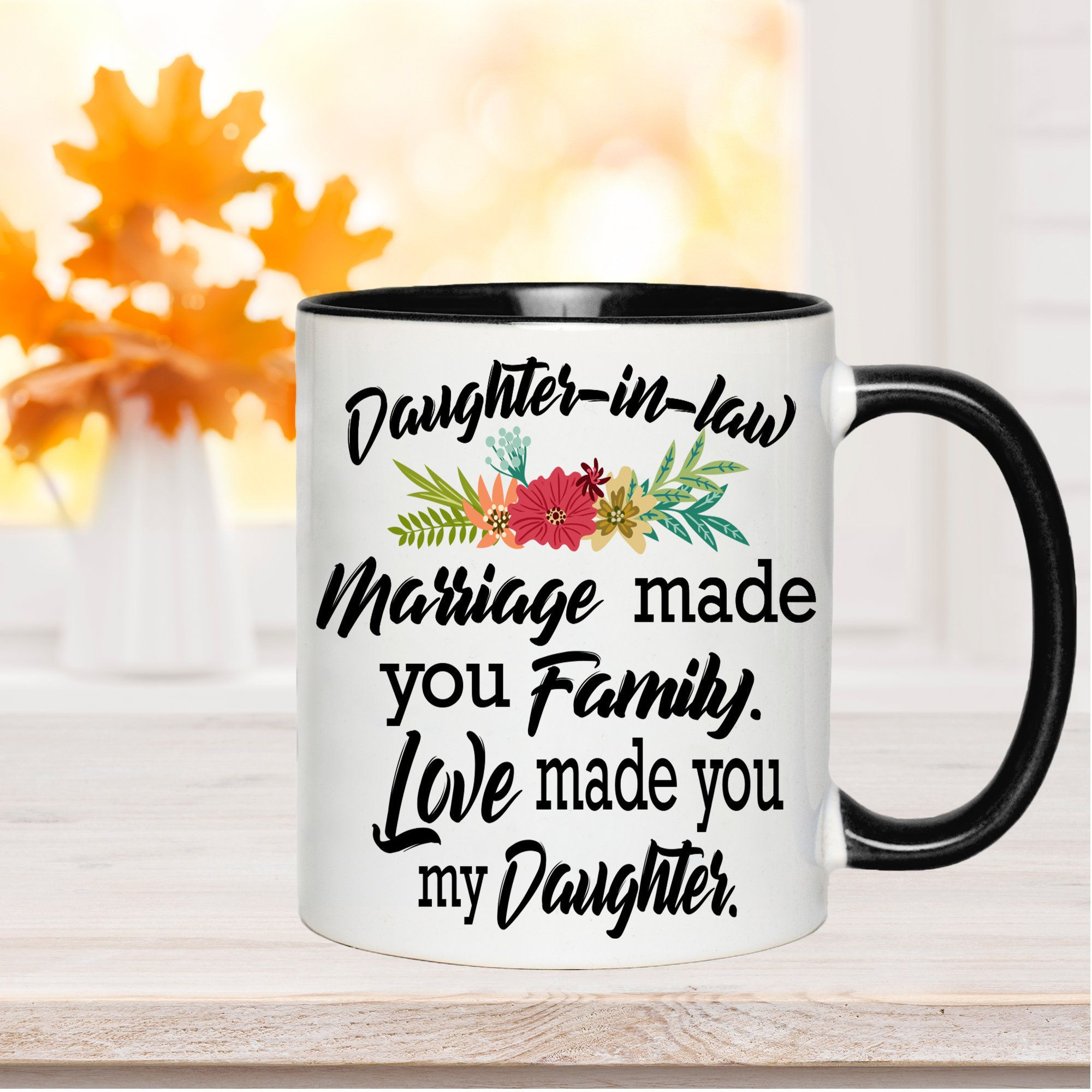 Daughterinlaw coffee mug daughter in law gift best