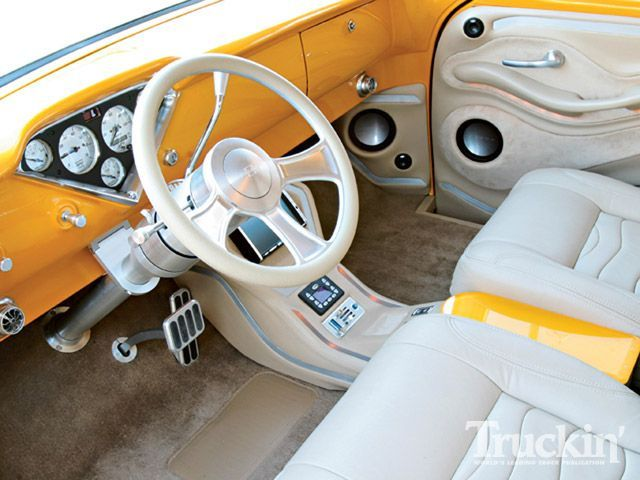 56 Chevy Truck Interior With Images Truck Interior Chevy