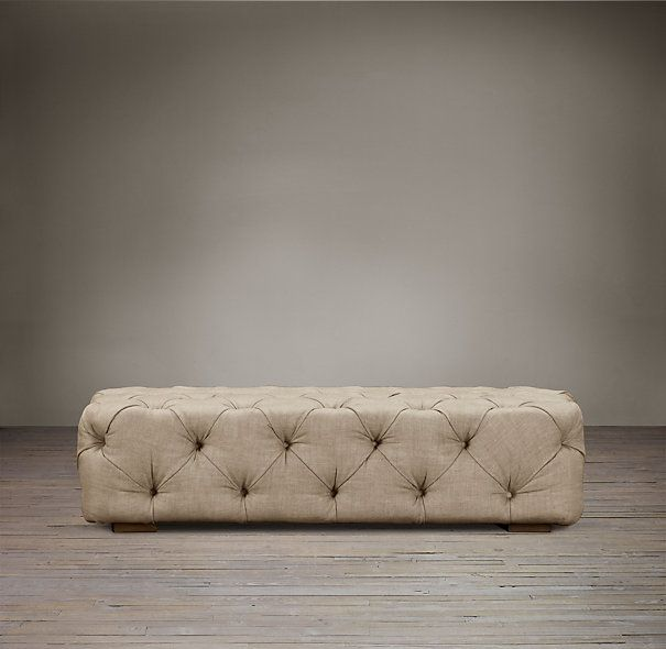 Exceptional Padded Ottoman Bench Part - 5: Soho Tufted Upholstered Ottoman -- Comes In Many Colors. The Tufting In  This Makes