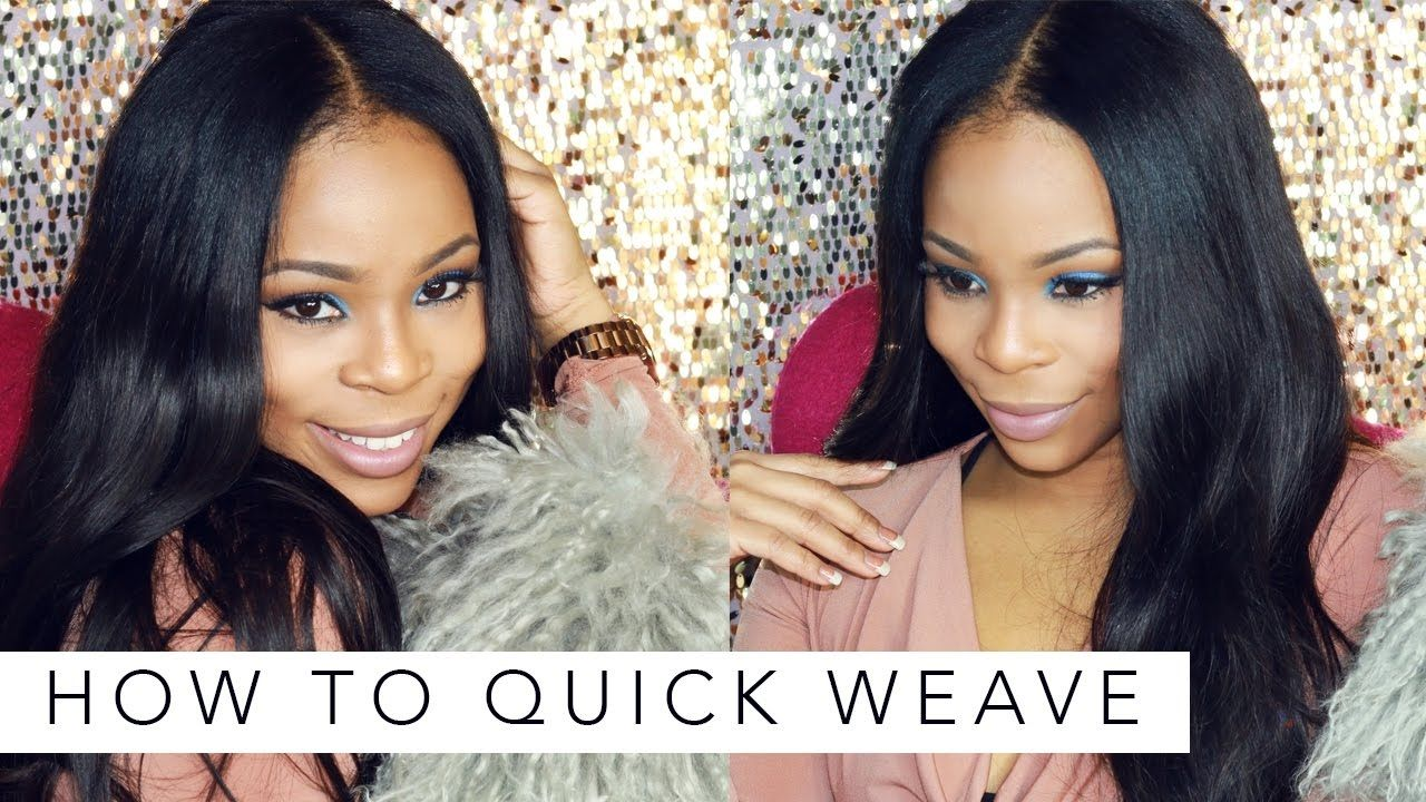 How To Do A Quick Weave With Unice Hair Weaves Unice Hair Reviews