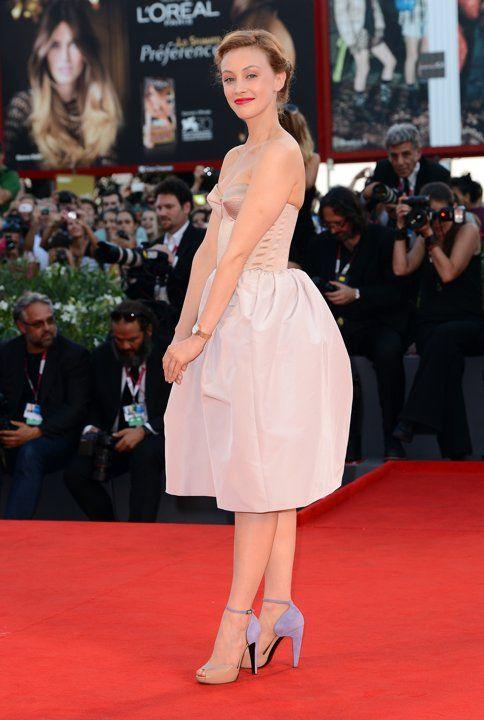 Premieres: 70th Venice Film Festival - Jaeger-LeCoultre Collection - Sarah Gadon
