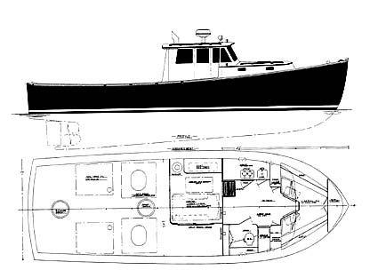 Motor Sailer Boat Plans | Boat building, Boat plans ...