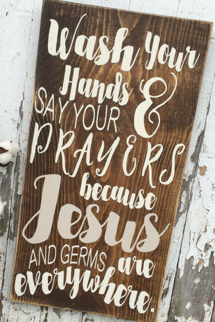 Home interior jesus my pediatrician taught me this wash your hands u say your prayers