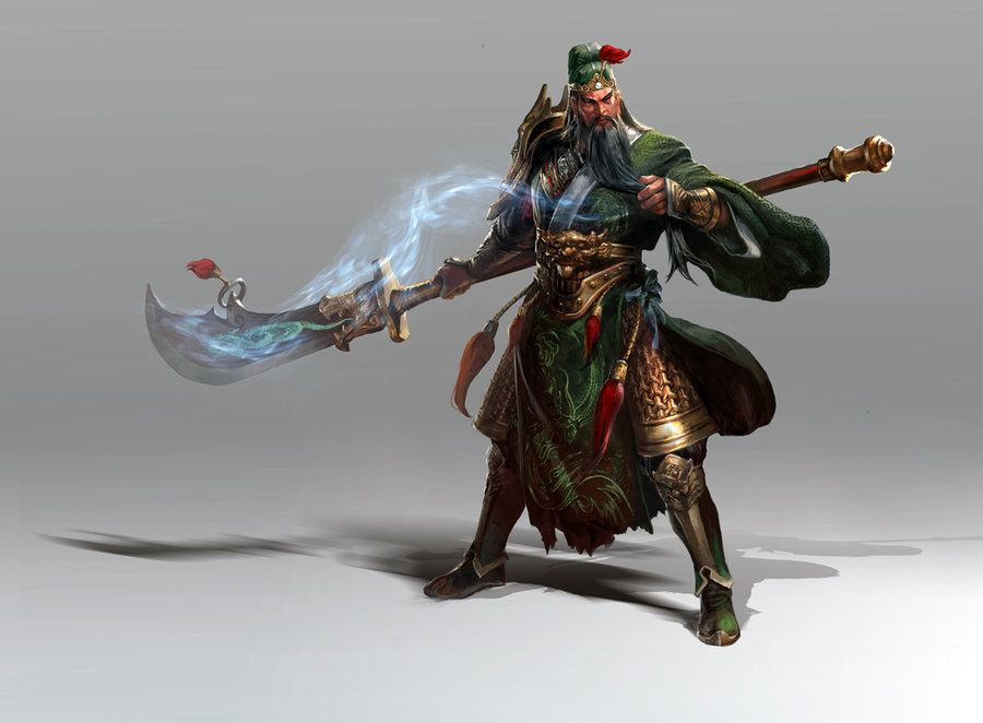 GUAN YU by akizhao.deviantart.com on @deviantART | Game ...