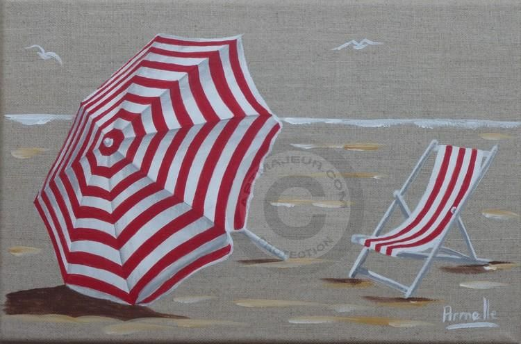 Parasol rouge ray sur le sable plage en 2019 pinterest parasol plage dessin plage et plage - Dessin parasol ...