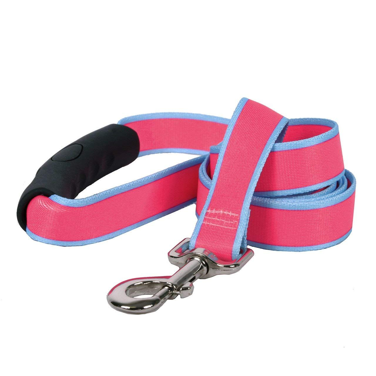 PetsCaptain Double Head 6-Way Multi-Functional 0.5 Diameter Heavy Duty Rope Dog Leash 3 Different Length Leash 42, 54, or 72, Quick Tie-Off, Hands-Free, or Double Dog Leash