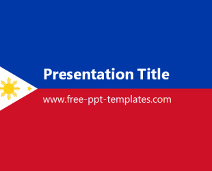 Philippines powerpoint template is a red and blue template which you philippines powerpoint template is a red and blue template which you can use to make an toneelgroepblik Choice Image
