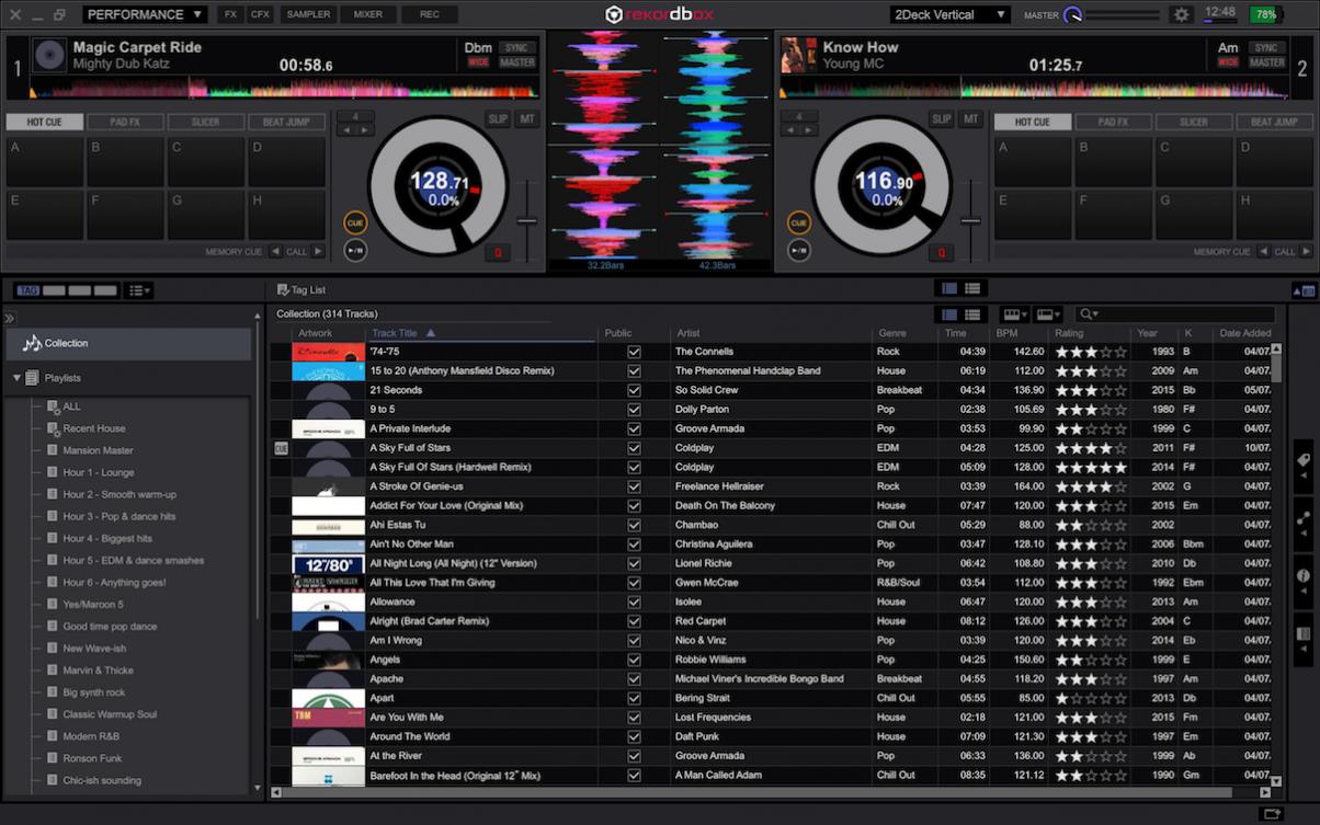 Digital DJ Tips: Pioneer Rekordbox DJ Software review  (****)   DJ