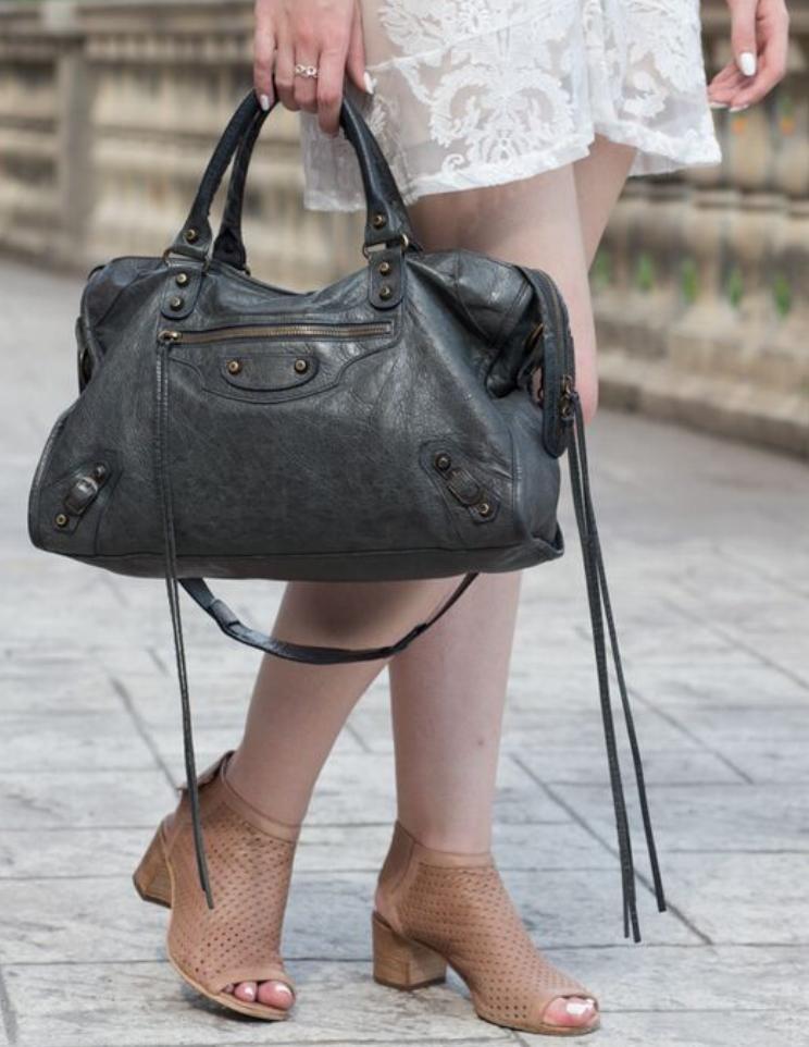 f3a01fb29 Balenciaga City Bag in Dark Green Sapin | Balenciaga Bags ...