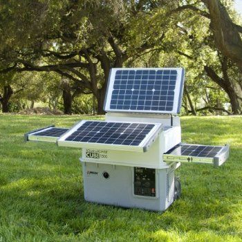 Solar E Cube Wagan El2546 Automotive 5 Solar Panels 16 Watts Each Unfold And Slide Out From The Power Cube 1 Solar Portable Solar Generator Solar Generators