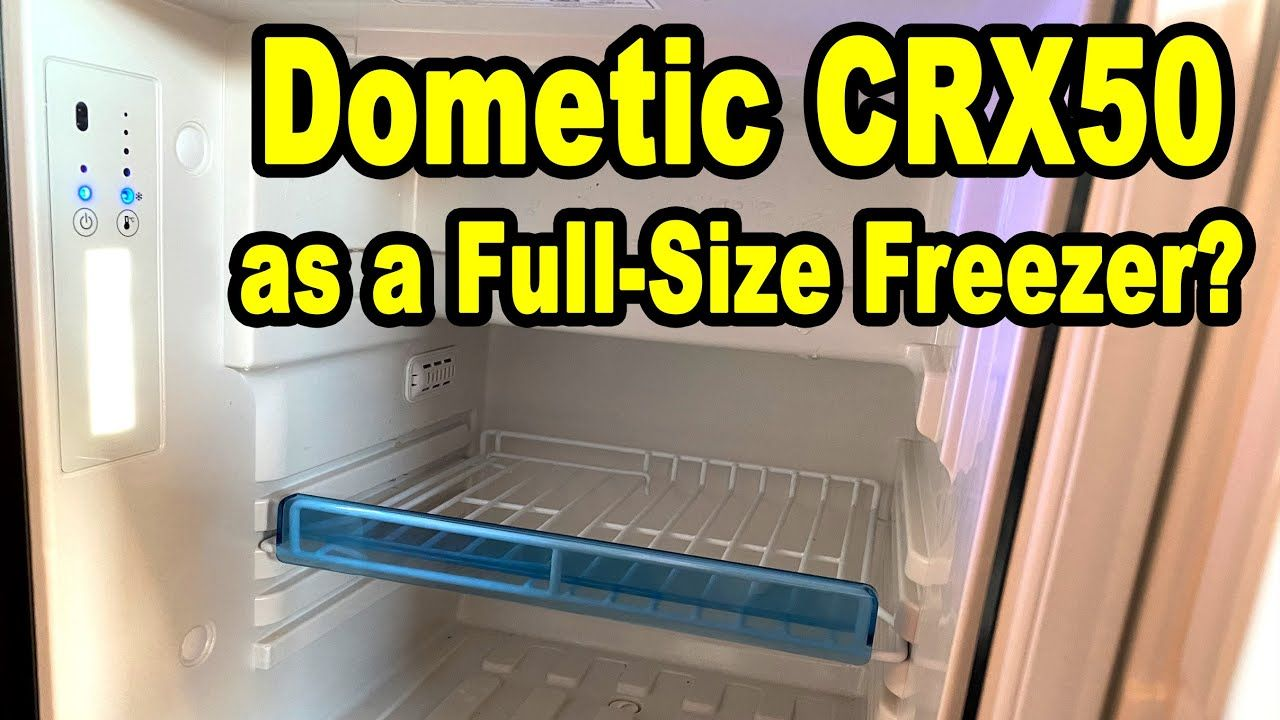 Test Dometic Crx50 As A Full Size Freezer 12v Compressor Fridge Test In 2020 Freezer Full Size Compressor