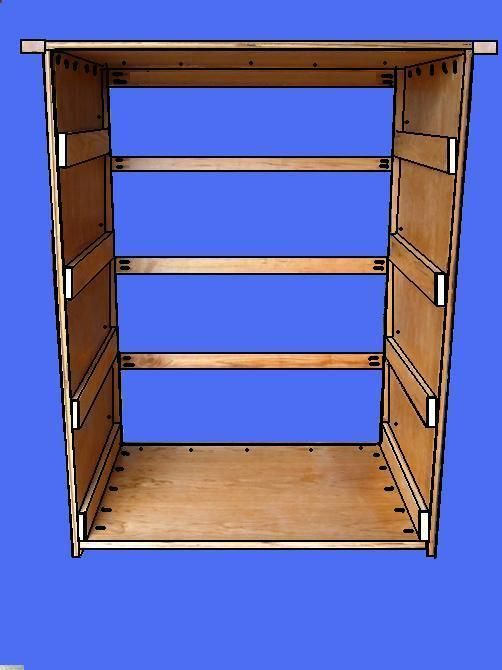 Free Dresser Plans How To Build A Chest Of Drawers Great Basic