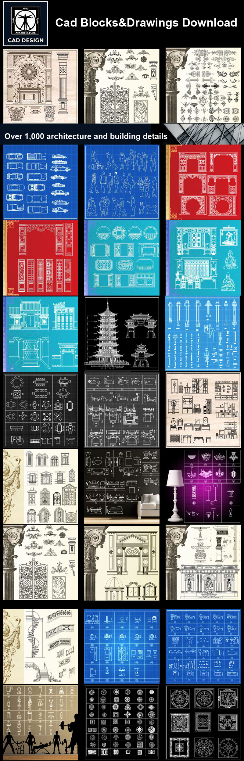Pin by CAD Blocks&Drawings on 25000 Autocad Blocks & Drawings ...