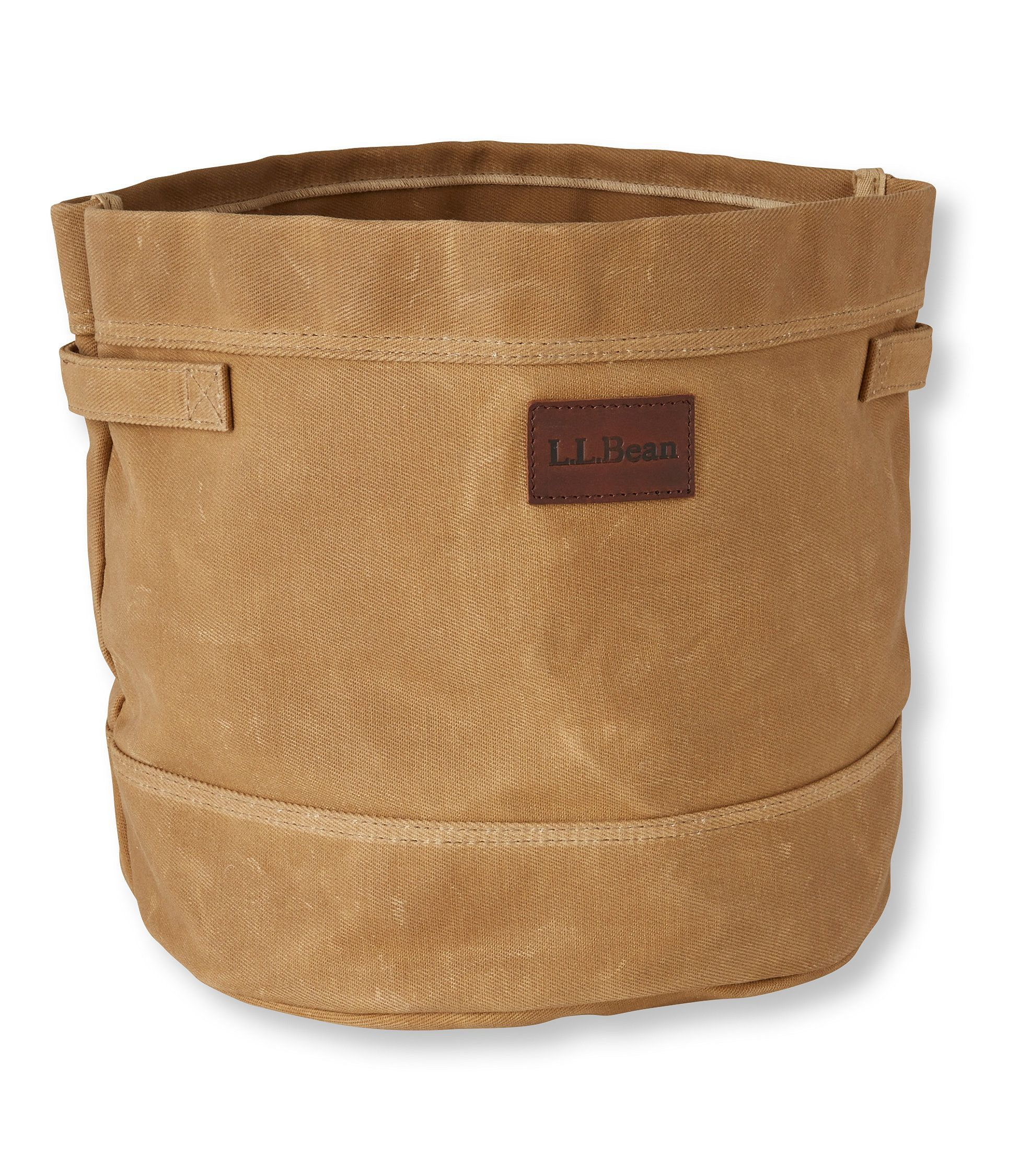 High Quality Waxed Canvas Storage Tote Bag