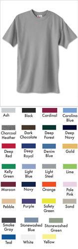 Men's 5.2 oz Hanes COMFORTBLEND ECOSMART 50/50 T-Shirt