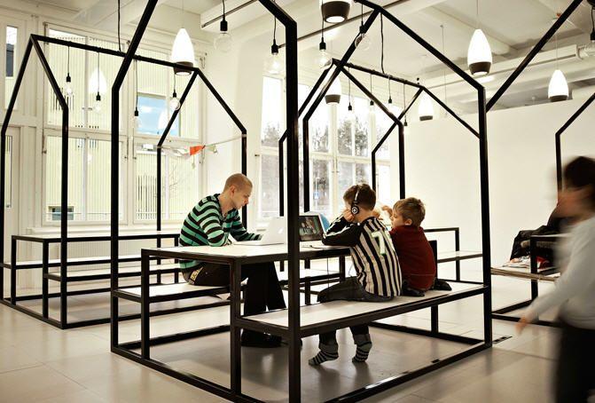 Une école design en Suède