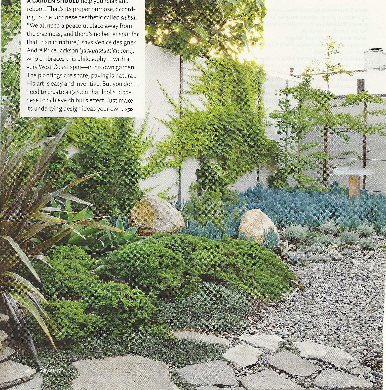 Californiajapanese Garden  From Sunset Magazine