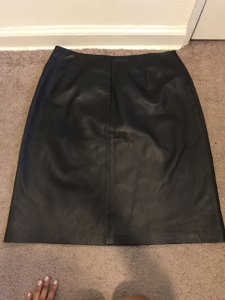 19be94859900 100% AUTHENTIC INC GENUINE LEATHER SKIRT SIZE L #fashion #clothing #shoes  #accessories #womensclothing #skirts (ebay link)