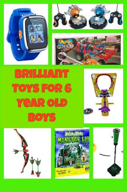 Brilliant Toys For 6 Year Old Boys Christmas Presents Gifts