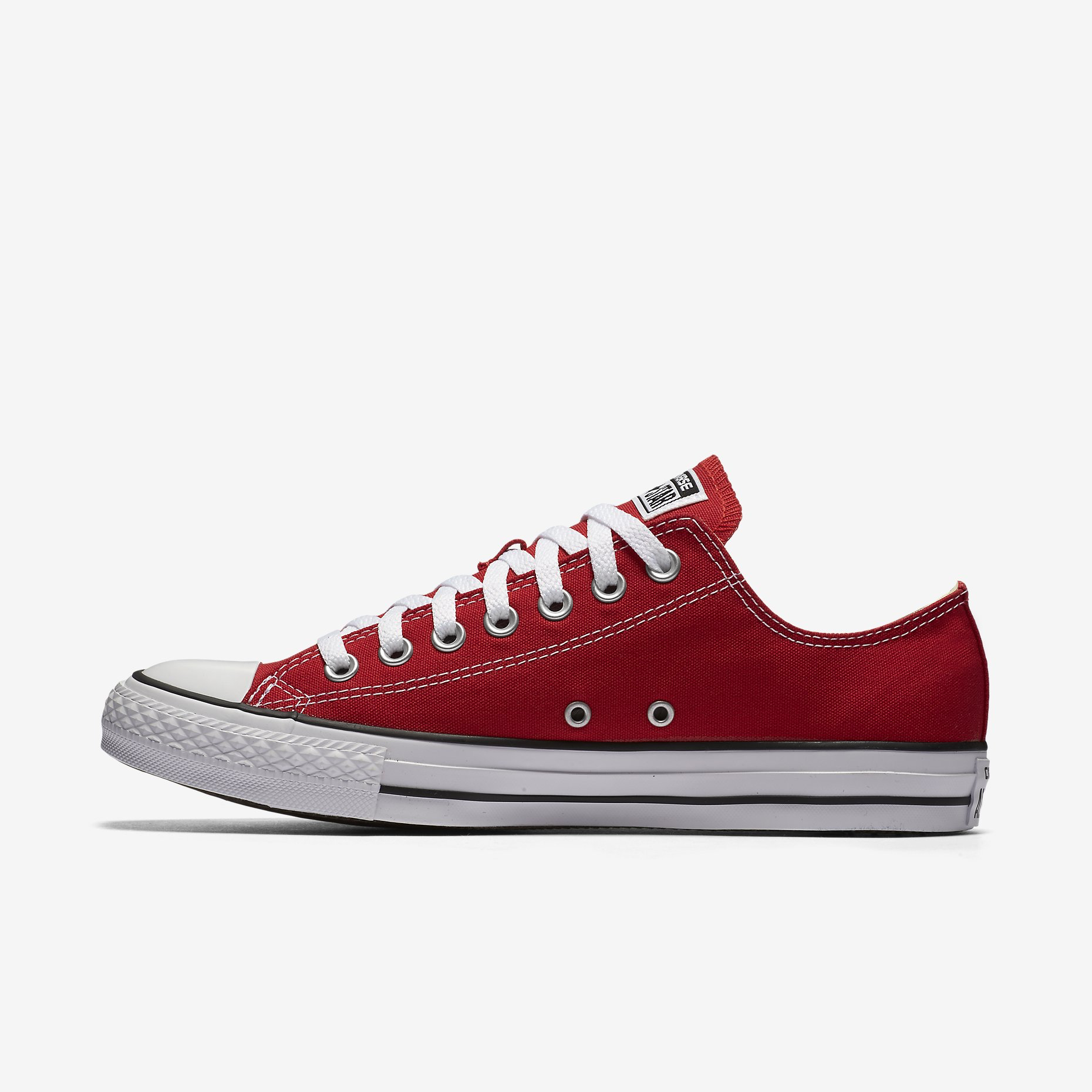 31b543acfd3e Converse Chuck Taylor All Star Womens Low Top Red