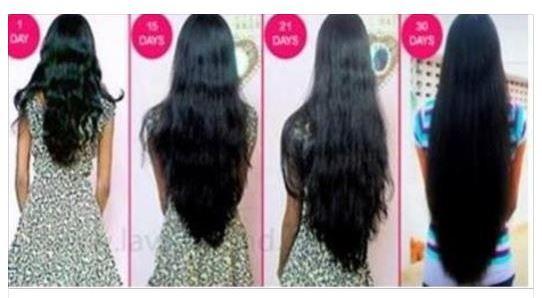 Faire pousser les cheveux de 5 cm