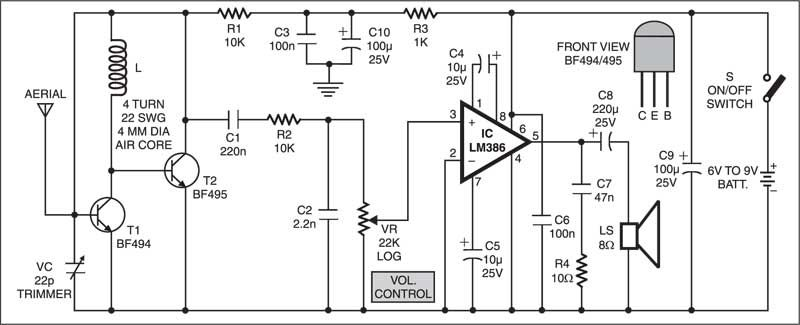 Simple FM    Receiver                               Electronics