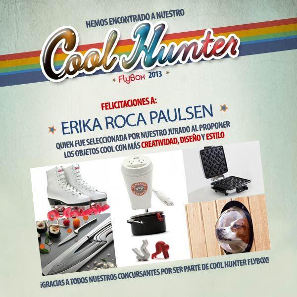 ¡Felicidades Erika Rocca!