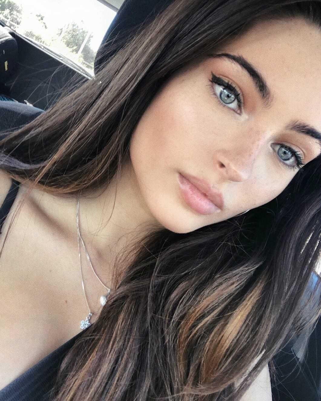 Kissable Face 170 Brunette Makeup Red Hair Blue Eyes Dark Hair