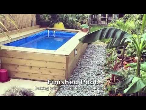 How to make a hay bale swimming pool yes this is a real - How to build a swimming pool yourself ...