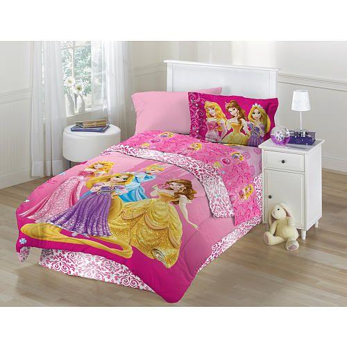 Disney S Princess Shine All The Time Full Comforter Set Twin