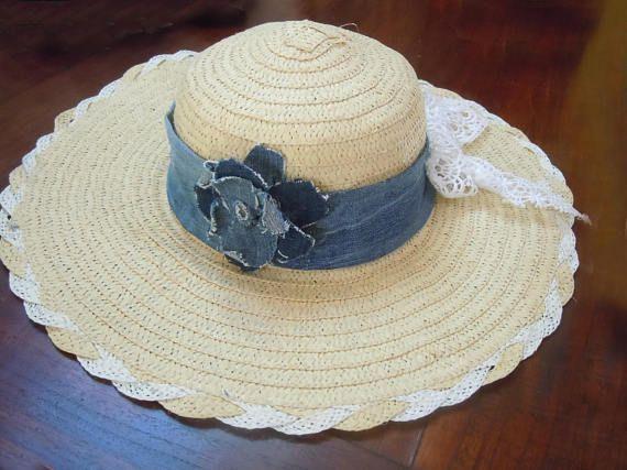 Cappello da donna in paglia naturale
