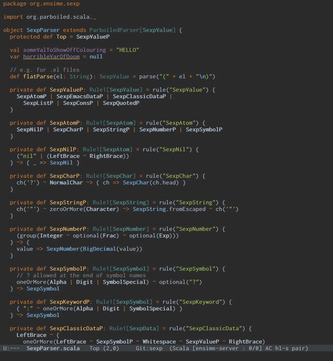darcula - nice dark theme for Emacs   Emacs   Moon face, New