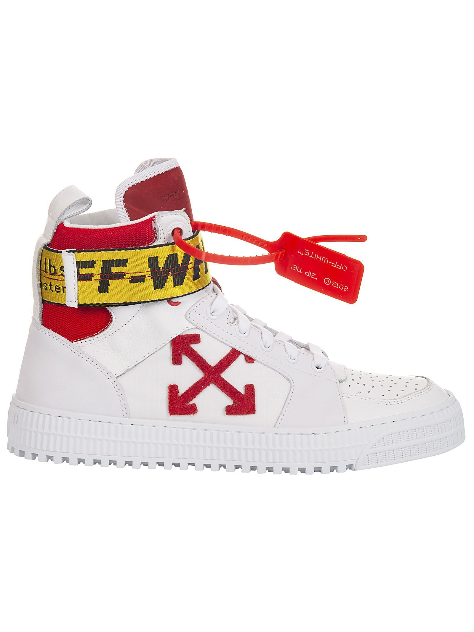 off white high top