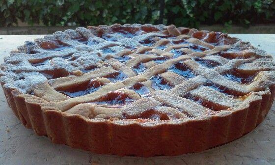 crostata all albicocca apricot cake