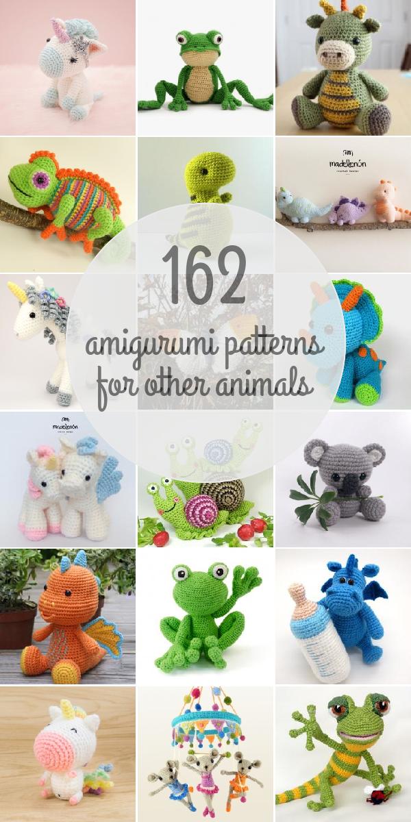 Amigurumi Patterns For Other Animals | Patrones amigurumi ...