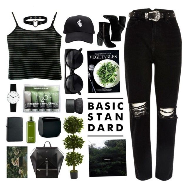 """""""Untitled #2734"""" by tacoxcat ❤ liked on Polyvore featuring River Island, Nearly Natural, Martha Stewart, NARS Cosmetics, H2O+, Seletti, Dries Van Noten, Rosendahl, Origins and Zippo"""