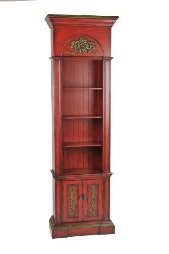 Ultimate Accents Crimson Narrow Bookcase Ultimate Accents  Http://www.amazon.com/dp/B00ILE7T9M/refu003dcm_sw_r_pi_dp_ryb4ub09934MP