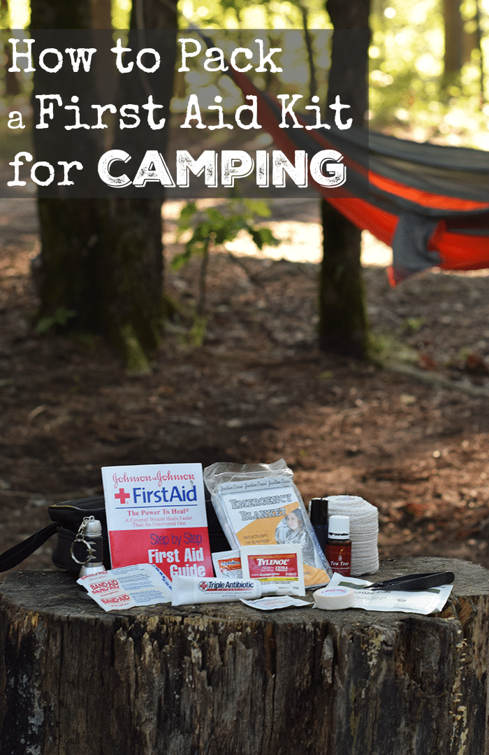 How to Pack a First Aid Kit for Camping