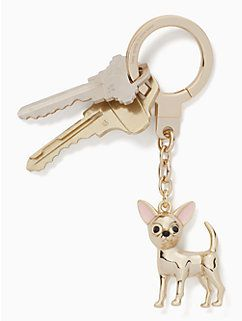 Chihuahua Keychain By Kate Spade New York Its A Dogs Life In