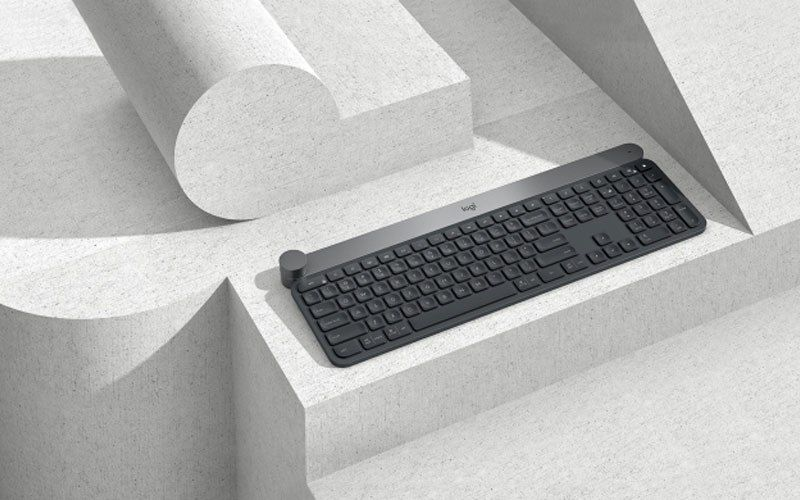 24a349ac332 Logitech announces Craft Keyboard with creative input dial called Crown
