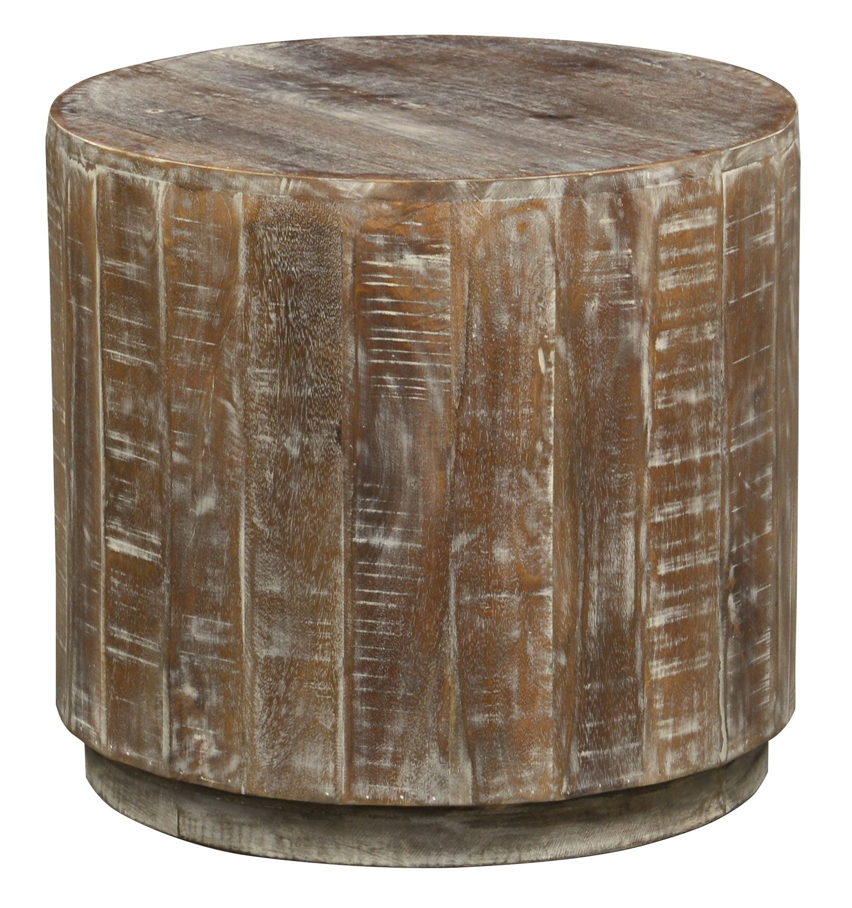 Laurel Round End Table by Classic Home at Crowley Furniture in Kansas City