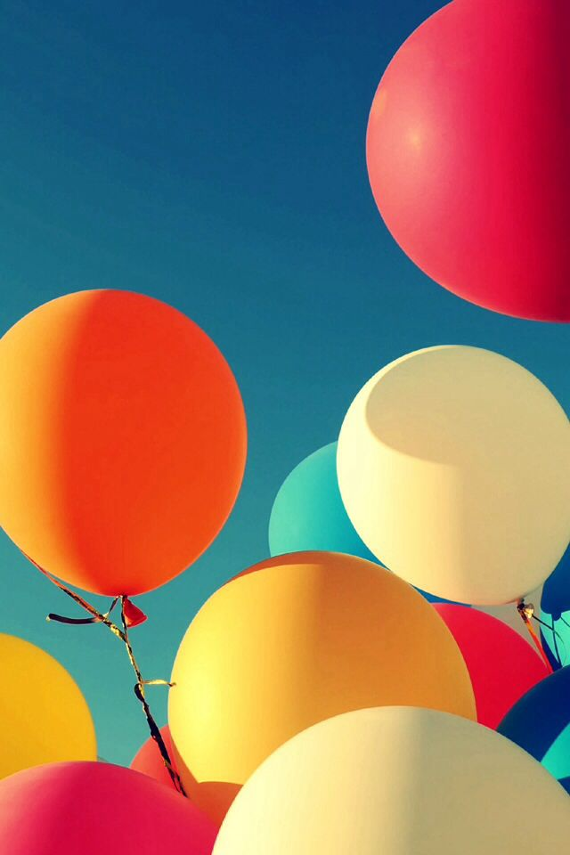 This Is My Iphone Wallpaper At The Moment Colourful Balloons