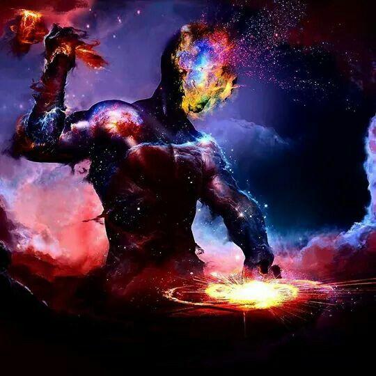 God Creating The Universe Concept Art Fantasy