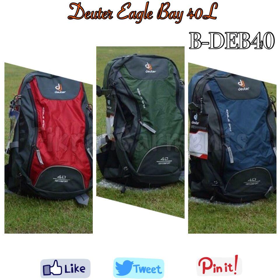 55499693cb3 Beg deuter backpack EagleBay 40 Anda pasti Bergaya! Made in Vietnam under  Deuter licence,