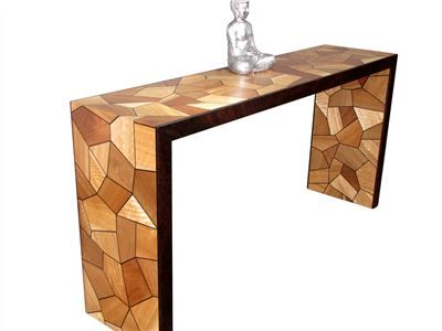 Modern Entry Table | Hall Tables | Eclipse Handcrafted Furniture